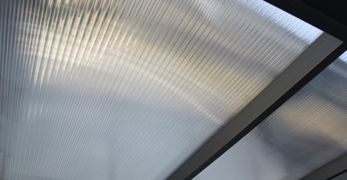 Polycarbonaatplaat 1250mm breed lengte 3500mm